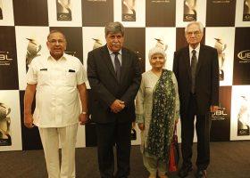 Dr. Anwaar Ahmad, Dr. Asghar Nadeem Syed, Dr Arfa and Mr. Masood Ashar