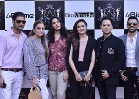 The quality skincare brand, BioMiracle, launched exclusively at a private gathering in Karachi, star-studded with prominent socialites, celebs and models.